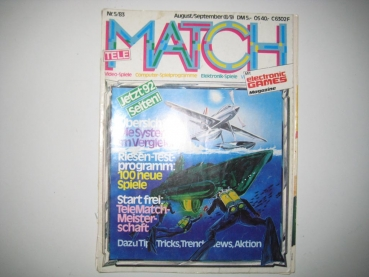 Telematch Computer Software Magazin Nr. 5 August/September 1983