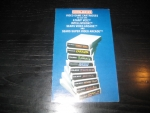 Coleco Video Game Cartridges (Coleco) Kataloge und Flyer