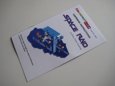 Space Raid (CollectorVision) Intellivision Handbuch