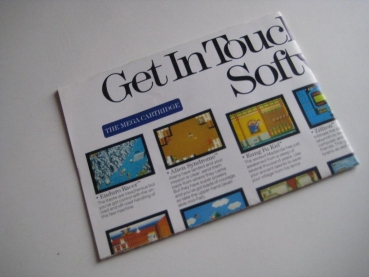 Get in Touch with Sega Software (Sega) Poster