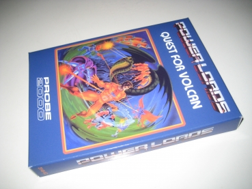 Power Lords: Quest for Volcan (Probe 2000/CPUWIZ Reproduction) Atari 2600