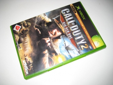 Call of Duty 2: Big Red One (Activision) Microsoft XBox