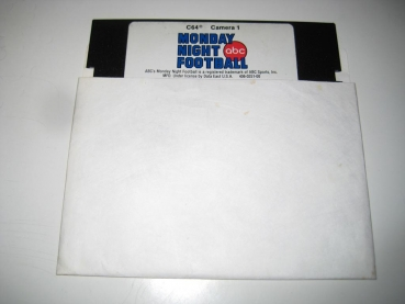 ABC Monday Night Football (Data East) C64 Disk